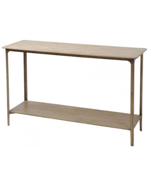 Anstey Mindi Wood Console Table - Asco Lights